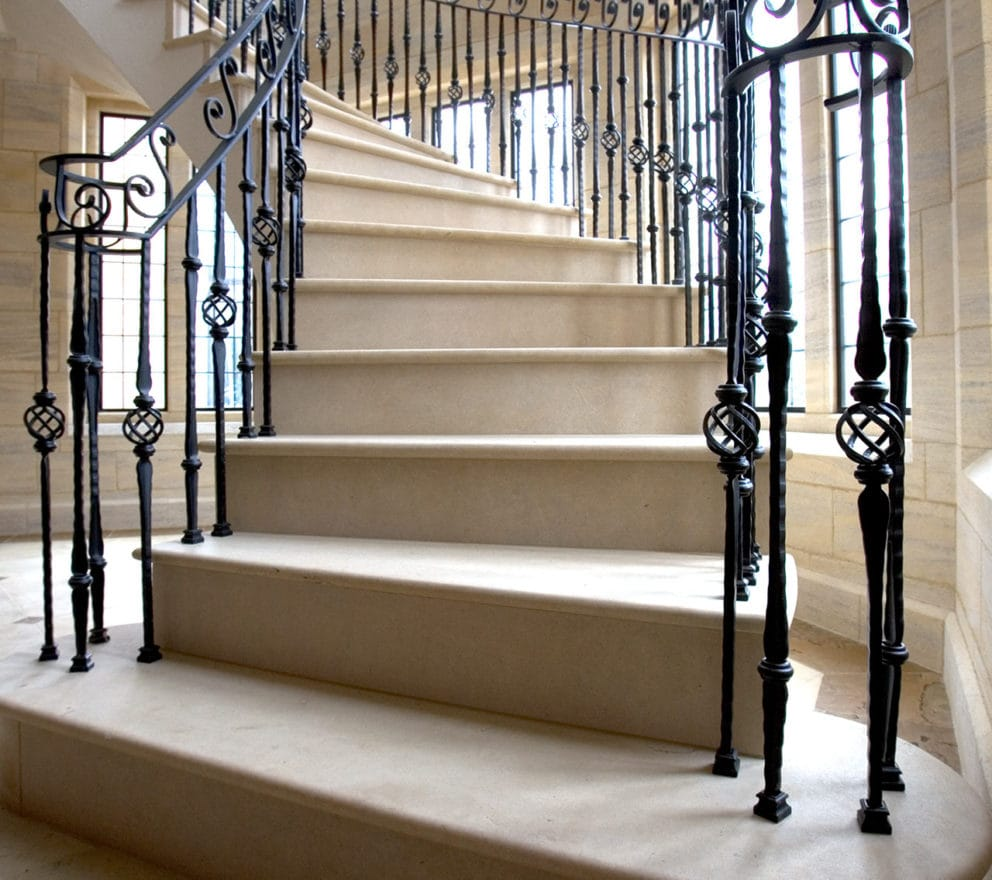Building Stone Staircase